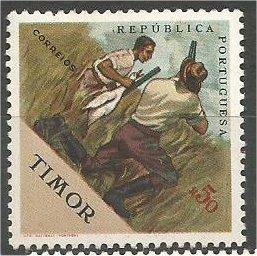TIMOR, 1962, MNH 50c, Sports Issue. Duck hunting. Scott 313