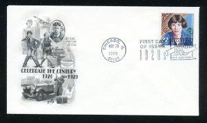 US 3184g Celebrate Century 1920s, Margaret Mead UA ArtCraft cachet FDC