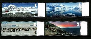 BAT British Antarctic Territory 2018 Landscapes 4v Set of Stamps unmounted mint