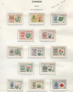 Canada stamps **