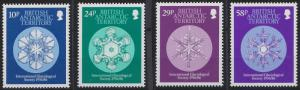 British Antarctic Territory 133-136 MNH (1986)