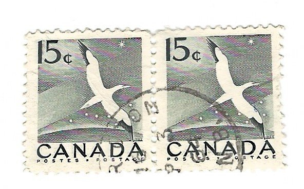 C  #343  Pair  crease   used  1954 PD