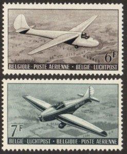 Belgium #C13-14 MH planes