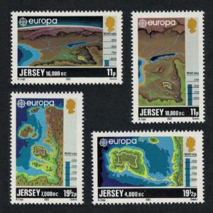 Jersey Europa CEPT 1982 Historic Events 4v SG#289-292