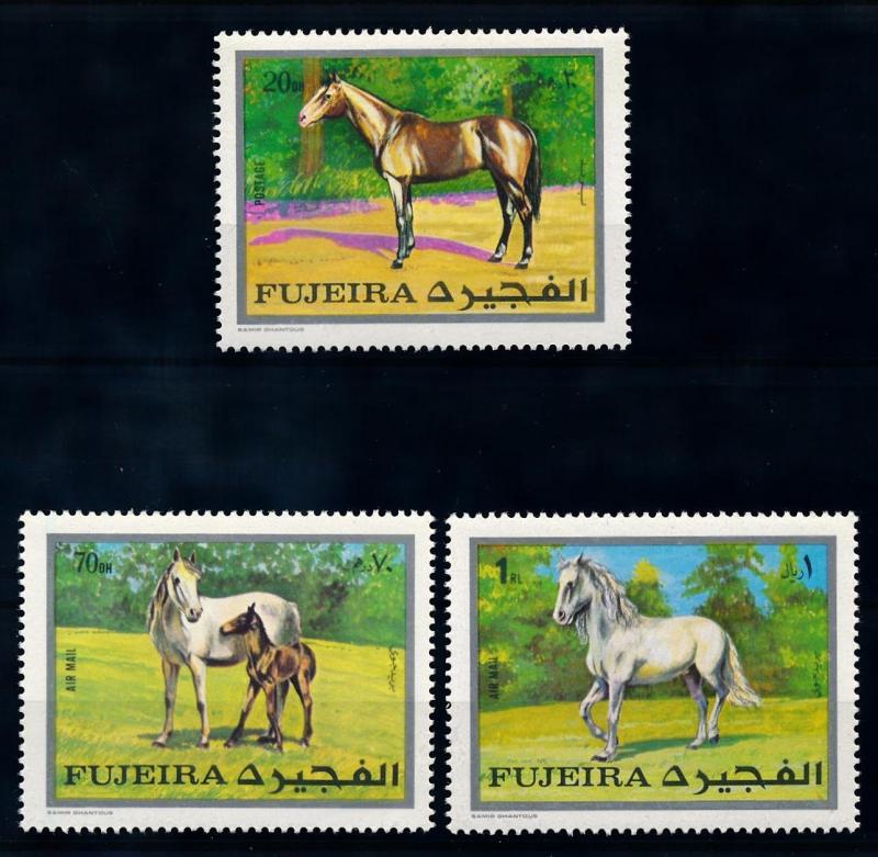[65569] Fujeira 1970 Horses From Set MLH