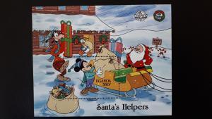 Disney - Uganda 1988. - Christmas ** MNH Block/2