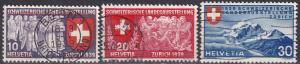 Switzerland #250-2 F-VF Used  CV $8.75  (A19155)
