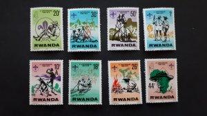 Scouts - Rwanda 1978. - Complete set ** MNH