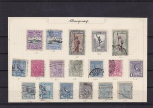uruguay early stamps ref 7335