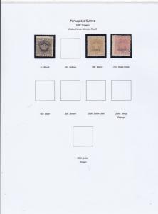 Portuguese Guinea Stamps Ref 14911
