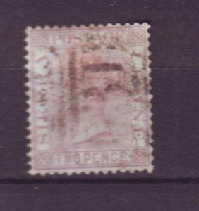 J21936 Jlstamps 1876-96 sierra leone used #14 queen wmk 1 perf 14