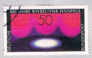 Germany 1217 Used Modern Stage (BP19524)