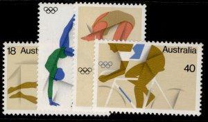 AUSTRALIA QEII SG623-626, 1976 olympic games set, NH MINT.