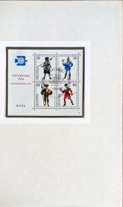INTERNABA 1974 UPU Centenary Basel Switzerland Handbook Exhibition Souvenir