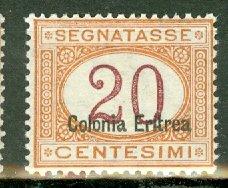 AL: Eritrea J3a mint CV $950
