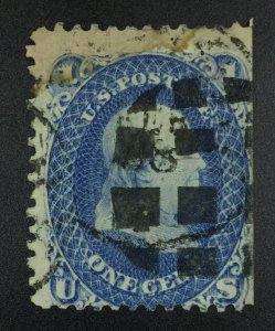 MOMEN: US STAMPS #63 USED LOT #51632