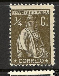 PORTUGAL 207 MOG REG. PAPER P.12X11.5   H46