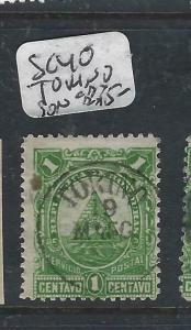 HONDURAS  (P0206B)   1C  SC 40  TORINO  SON  CDS   VFU