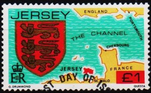 Jersey. 1981 £1 S.G.273 Fine Used