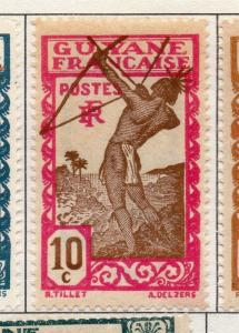 French Guiana 1929 Early Issue Fine Mint Hinged 10c. 177930
