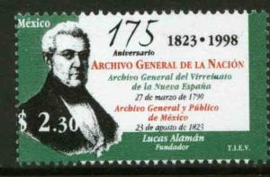MEXICO 2093, National Archives, 175th Anniversary. MINT, NH. VF. (69)