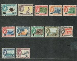 Virgin Islands Sc#128-139 M/NH/VF, C.v $27.65