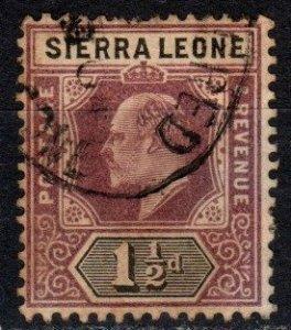 Sierra Leone #79 F-VF Used  CV $20.00  (X5067)