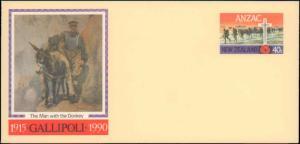 New Zealand, Postal Stationery