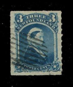 Newfoundland #39 SG 42 U F/VF 3c 1876-1879 Is. [N4038] CV=$15.00