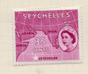 Seychelles 1957 Early Issue Fine Mint Hinged 35c. NW-99404