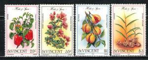 St Vincent; 1985; Sc. # 829-832; **/MNH Cpl. Set
