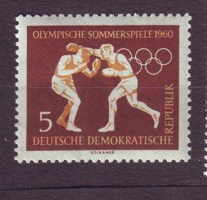 J23294 JLstamps 1960 germany DDR hv of set mnh #488 boxing