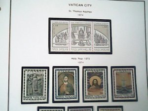 1974  Vatican City  MNH  full page auction