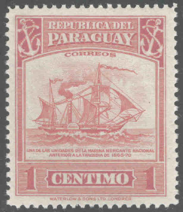 Paraguay Scott 435 MH*stamp
