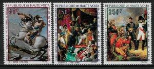 Burkina Faso #C70-2 MNH Set - Napolean Paintings - 40% Cat.