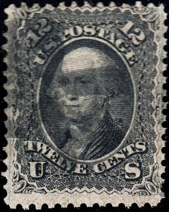 U.S. 97 Used FVF Very Thin Paper (61219)