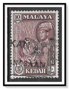 Kedah #100 (v), SG109A Sultan Abdul Halim & Tiger Used