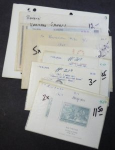 EDW1949SELL : RWANDA Nice clean collection of all VF MNH Complete sets. Cat $129