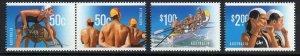 AUSTRALIA SG2777/80 2007 YEAR OF THE SURF LIFESAVER MNH