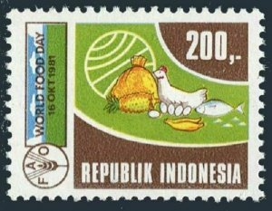 Indonesia 1135,MNH.Michel 1028. FAO.World Food Day 1981.