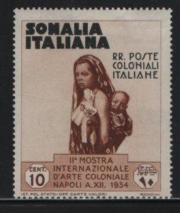 SOMALIA, 165, HINGED, 1934, MOTHER AND CHILD