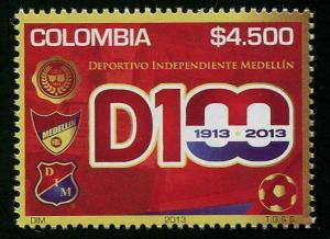 HERRICKSTAMP COLOMBIA Sc.# 1395 Medellin Independent Sports