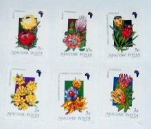 Hungary - 3230-35, MNH Set. Flowers. SCV - $3.85