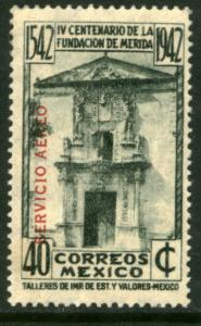 MEXICO C118, 40c 400th Anniv of Merida - OVERPRINTED. MINT, NH