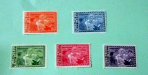 Guinea - 336-39, C61, MNH Set. E. Roosevelt . SCV - $1.90
