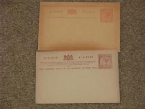Australia, Victoria One Penny Postcards