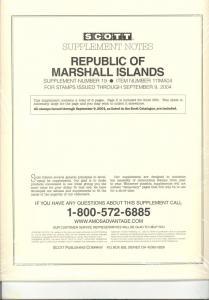 Marshall Islands Supplement # 19