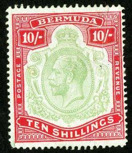 Bermuda Stamps # 58 Unused Scott Value $225.00