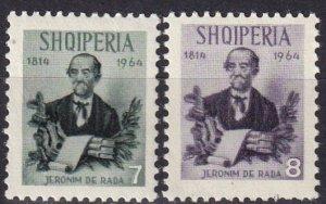 Albania #770-71  MNH CV $3.00  (Z8025)