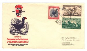 New Zealand Sc#313-315 - Souvenir First Day Cover